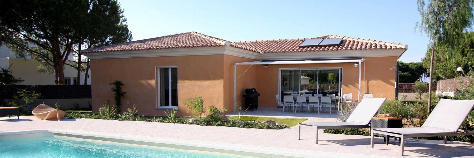 Maison en corse hautecorse pino piscine terrasse maison for Location maison sud corse